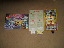 2007 VERSION OPERATION Game Spongebob Squarepants Edition 100% COMPLETE