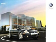 2009  09 VW EOS oiginal  brochure MINT