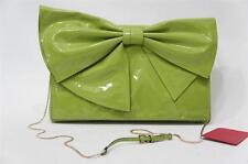 VALENTINO GARAVANI BOW LACCA NUAGE HOBO BAG GREEN $999 NWT