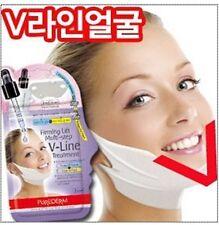 3pcs [purederm ]Facial V-Line treatment firming lift multi-step mask pack,sheets