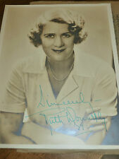 Vintage Ruth Donnelly Signed/Autographed Photo - Sepia-Dated - Original Envelope