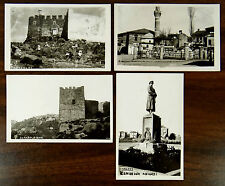 ANKARA TURKEY Castle Mosque Statue YENISEHIR ABIDESI 4 Photo Postcards