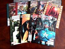 9 COMICS Ultimate Nightmare 2004 #2-5 & Ultimate Extinction 1-5 Captain America