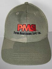 PMSI PAVING MAINTENANCE SUPPLY INC Construction Advertising ADJUSTABLE HAT CAP