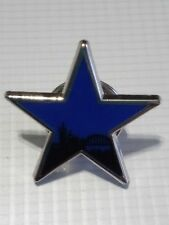 Newcastle United Newcastle Breweries Blue Star Pin Badge Silver.
