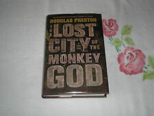 THE LOST CITY OF THE MONKEY GOD by DOUGLAS PRESTON   *Signed*