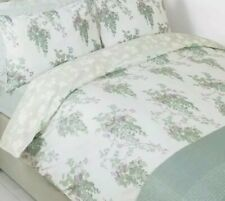 Laura Ashley Wisteria Printed Duck Egg Double Duvet Cover Only