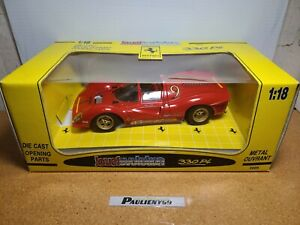 1967 Ferrari 330 P4 1:18 Le Mans Series Jouef Evolution *CUSTOM DECALS*