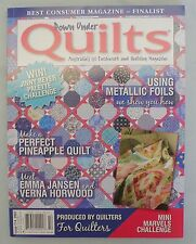 Down Under Quilts Magazine Issue 114 * Like New * Pineapple Quilt