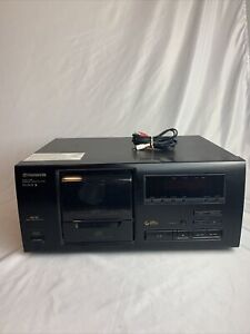 Pioneer PD-F505 Vintage File Type 25-CD Player Tested And Working