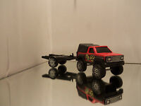 1984 Buddy L Chevy Pickup Truck W/ Bed Cab & Matching Trailer - Loose 1/48 - #2