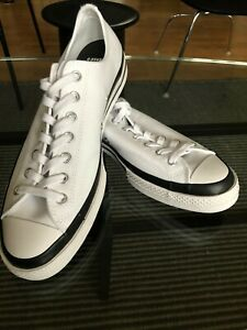 Moncler/Fragment/Converse NEW Men's White/Black Low Top Sneaker US 10.5