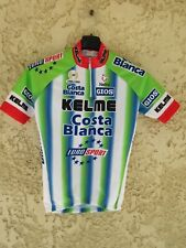 Maillot cycliste KELME COSTA BLANCA 1999 camiseta vintage shirt enfant 12 ans