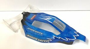 Associated RC10 B4.2 Body & Rear Wing also fits B4 B4.1 3342-00 Painted