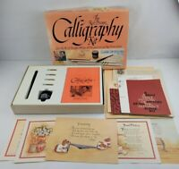 Vintage 1981 The Ken Brown Calligraphy Kit Classic Dip Style Pen Right Hand