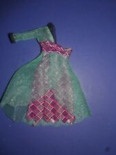 Monster High Doll Clothes 13 Wishes Lagoona Blue Outfit Dress