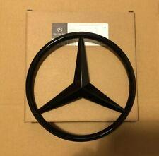 Mercedes-Benz C Class C63 W204 2011-14 Front Grille Star Badge Emblem GlossBlack