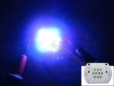 30W Cree XP-E 10000K + Royal Blue + Blue + Green + Red Led Module Chip Light
