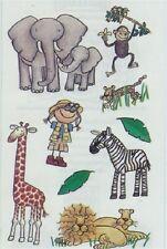 Mambi SAFARI ZOO KIDS Scrapbook Stickers
