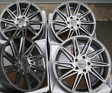 "ALLOY WHEELS X 4 19"" GM CALIBRE A FIT 5x112 VW PHAETON TIGUAN SCIROCCO TOURAN T4"