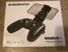 SteelSeries Nimbus+ Wireless iOS Gaming Controller for Apple iPhone iPad Mac