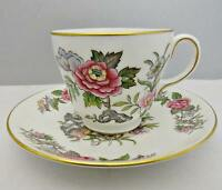 Wedgwood Cathay W4053 Fine Bone China Cup and Saucer