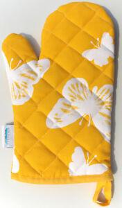 Glove Grill Stove Pot Chef Kracht Kitchen Butterflies Baking Animal Yellow Deco