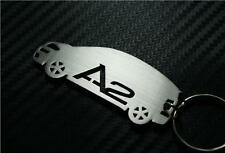 For Audi A2 CAR keyring keychain Schlüsselring porte-clés TDI TSI FSI S LINE SE