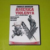 DVD.- AMERICA VIOLENTA - CHARLES BRONSON - MICHAEL WINNER