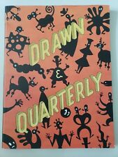 Drawn & Quarterly Volume 4 2001 Oversized Graphic Novel Collection Out Of Print