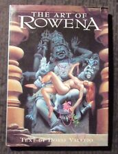 2000 The Art of ROWENA Text by Doris Vallejo - Paper Tiger HC/DJ NM/FN+