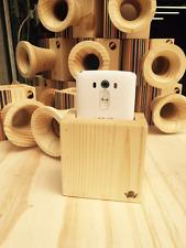 Recycled Skateboard Wood Phone Speaker
