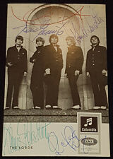 1960'S - THE LORDS - GERMAN BAND - AUTOGRAPHS (5) POSTCARD - ORIGINAL