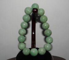 "0.6"" China Certified Nature Hisui Jadeite Jade Grade A Beads Bangle Bracelets"