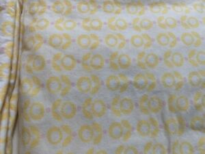 Lolli living cotton cot sheet set yellow + pink flowers + other - good condition