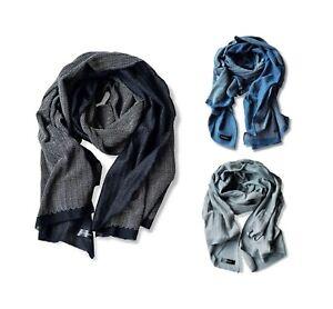 Tavarat Japan Made Mens Stole 100% Cotton Herringbone Tav-014 Shawl Select Color