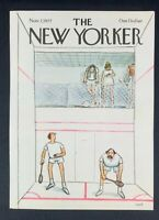 COVER ONLY ~ The New Yorker Magazine, November 7, 1977 ~ Charles Saxon