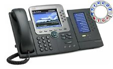 Cisco CP-7975G Touchscreen Unified IP Telephone With 7916 Expansion Module