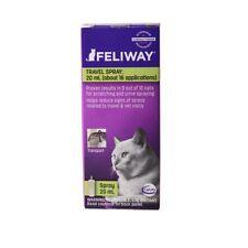 Feliway Classic Travel Spray Pheromone Cat calming Stress reducer 20ml