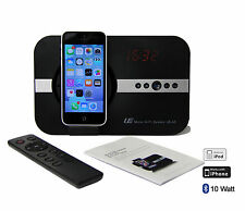 Soundsystem Bluetooth Radio USB Apple iPhone X Xr 8 7 6 5 ipad mini Air 10 Watt
