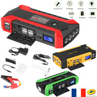 13600mAh Batterie Booster Car Starter Jump Chargeur Démarrage Voiture Power Bank