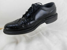 O'Sullivan Executive Imperial Black Leather Wingtip Oxford Mens  SZ 8 E shoe