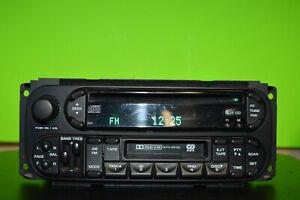 02-05 Chrysler Dodge Jeep factory RAZ disc CD cassette player radio P05091605AD