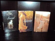 Lot of 3 by Elana K. Arnold~Sacred, Splendor, Burning Hardcover 1st/1st