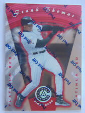 1997 Pinnacle Totally Certified Platinum Red Frank Thomas #41 #/3999