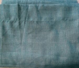 """Threshold Teal Blue Curtain Window Panel ~ 54"""" X 84"""" ~ Polyester"""