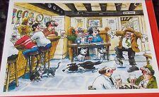 """Carte Vierge """"Last Orders"""" par Chris Guy. Le petit Angleterre Galerie cartes"""