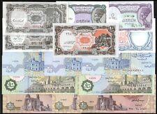 Egypt Diff. BANKNOTES LOT X 14 PCS UNC