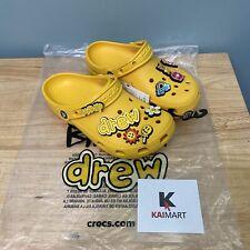 Justin Bieber Drew House Crocs Clog Men's Size 5 6 7 8 9 10 11 12 13