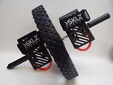 SKLZ Chrome Lifeline USA Power Wheel Abdominal Exerciser Core Trainer